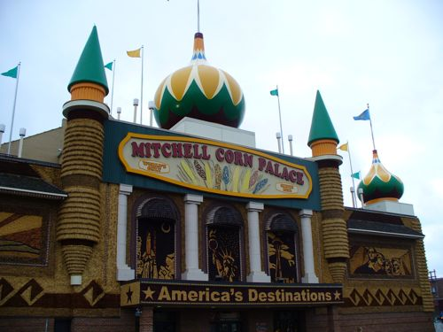This palace? It's made of corn.